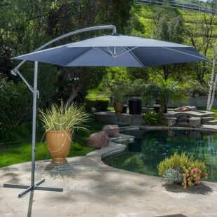 Muhammad Fullerton 10' Cantilever Umbrella by Beachcrest Home