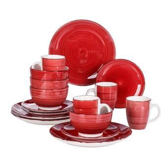 Bloomsbury Market Aranwen 8 Piece Dinnerware Set Service For 2 Wayfair