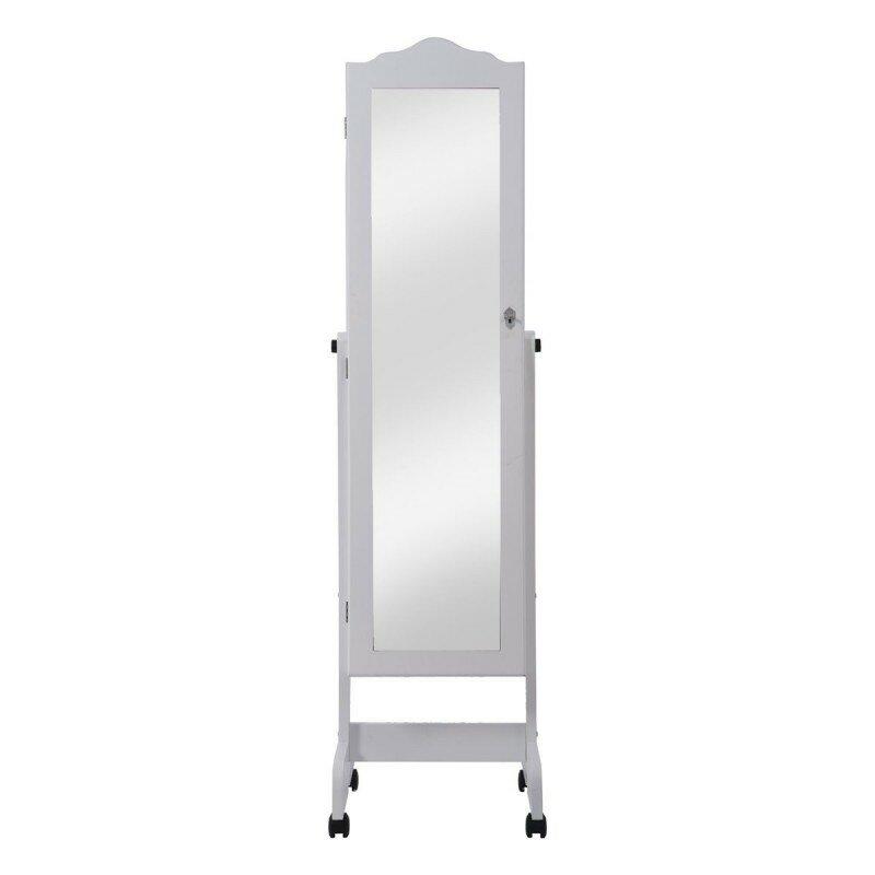 hazelwood home schmuckschrank mit spiegel. Black Bedroom Furniture Sets. Home Design Ideas