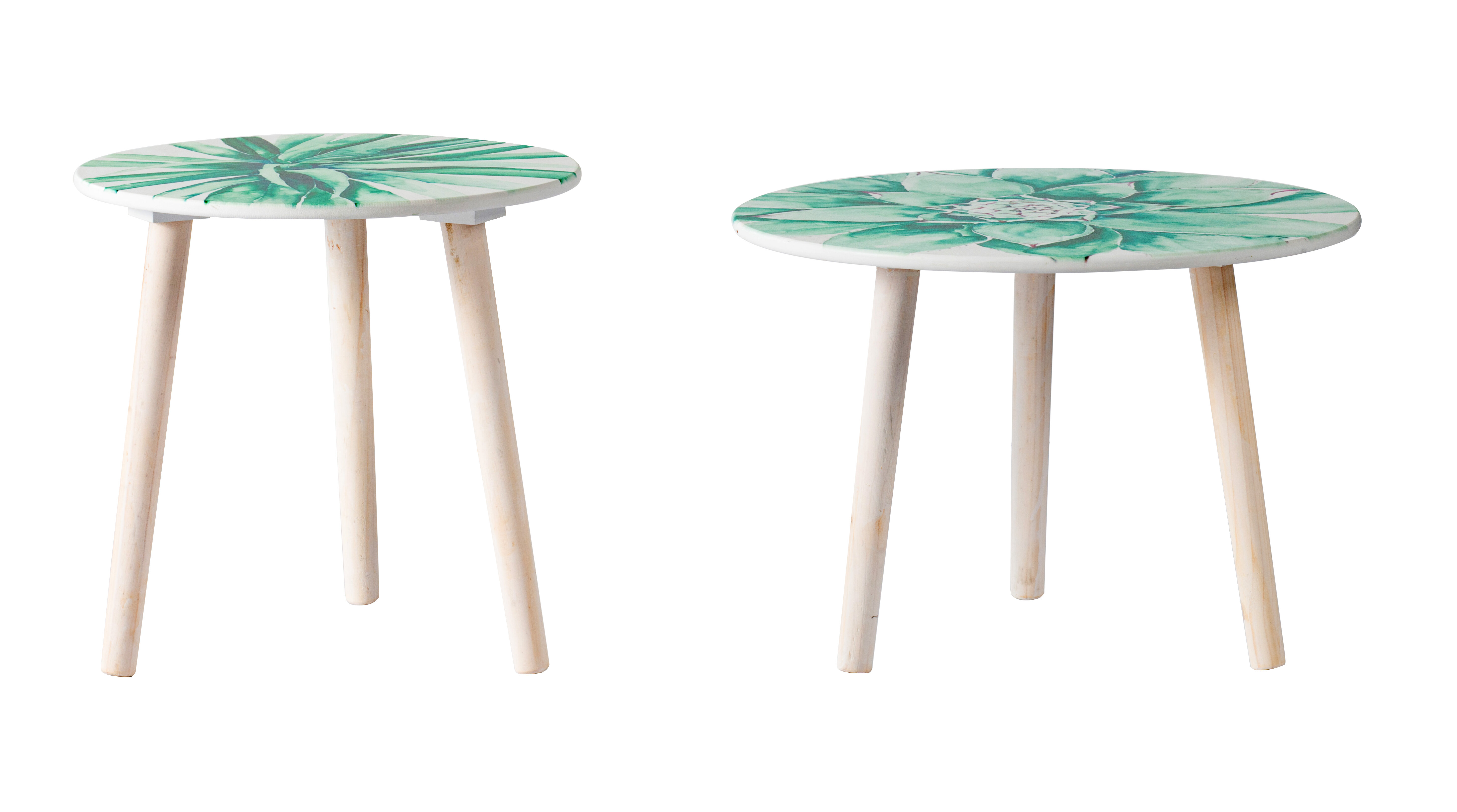 Foundry Select Whitbeck 3 Legs End Table Set Wayfair