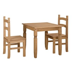 Choe Dining Set With 2 Chairs By Brambly Cottage