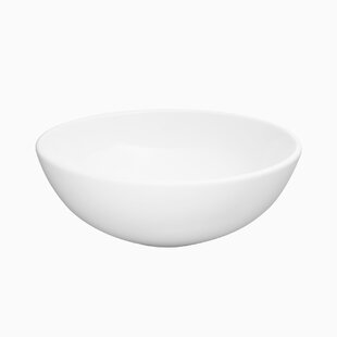 Read Reviews Maykke Ceramic Circular Vessel Bathroom Sink By Maykke