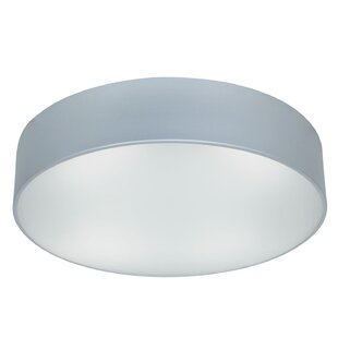 Check Prices Patin 3-Light Outdoor Flush Mount By Latitude Run