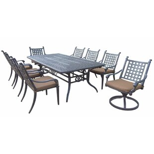 Arness 12 Piece Bar Height Dining Set