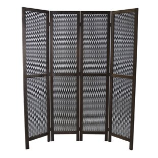 Winter Hill 4 Panel Room Divider by Bloomsbury Market