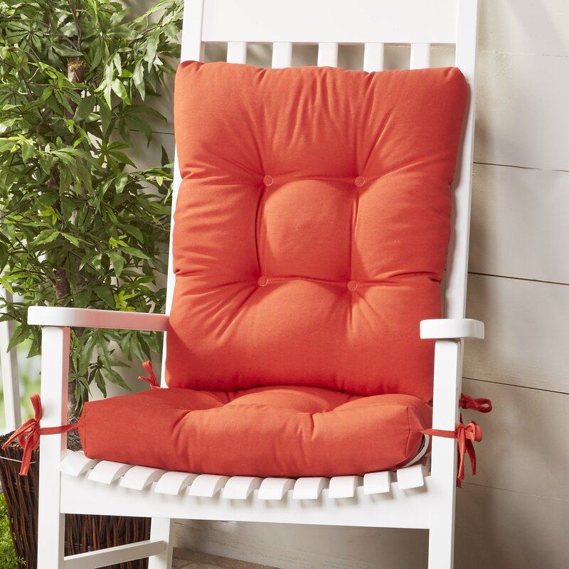 Gentil Wayfair Basics Indoor U0026 Outdoor 2 Piece Rocking Chair Cushion Set