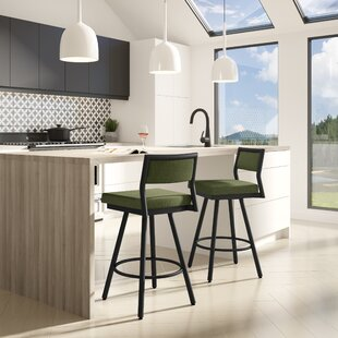 Fairchild Swivel Bar Stool Brayden Studio