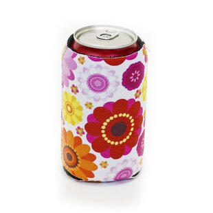 Neoprene Flower Power Can Cooler