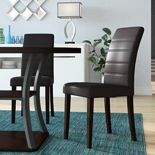 Petrillo Upholstered Dining Chair (Set of 2) Ebern Designs