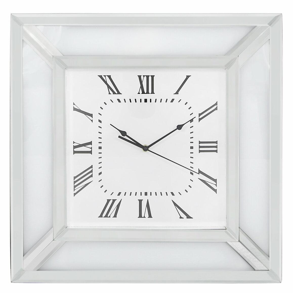 Wade Logan Marco 50cm Wall Clock Wayfair Co Uk