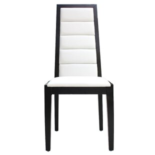 Sharelle Furnishings Venus Genuine Leather Upholstered Dining Chair (Set of 2)