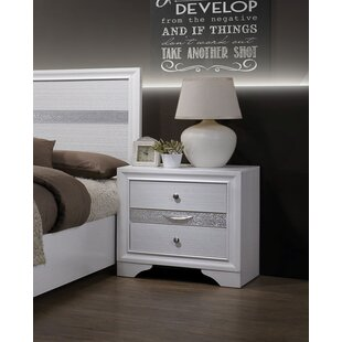 Hawkesbury 3 Drawer Nightstand by Mercer41