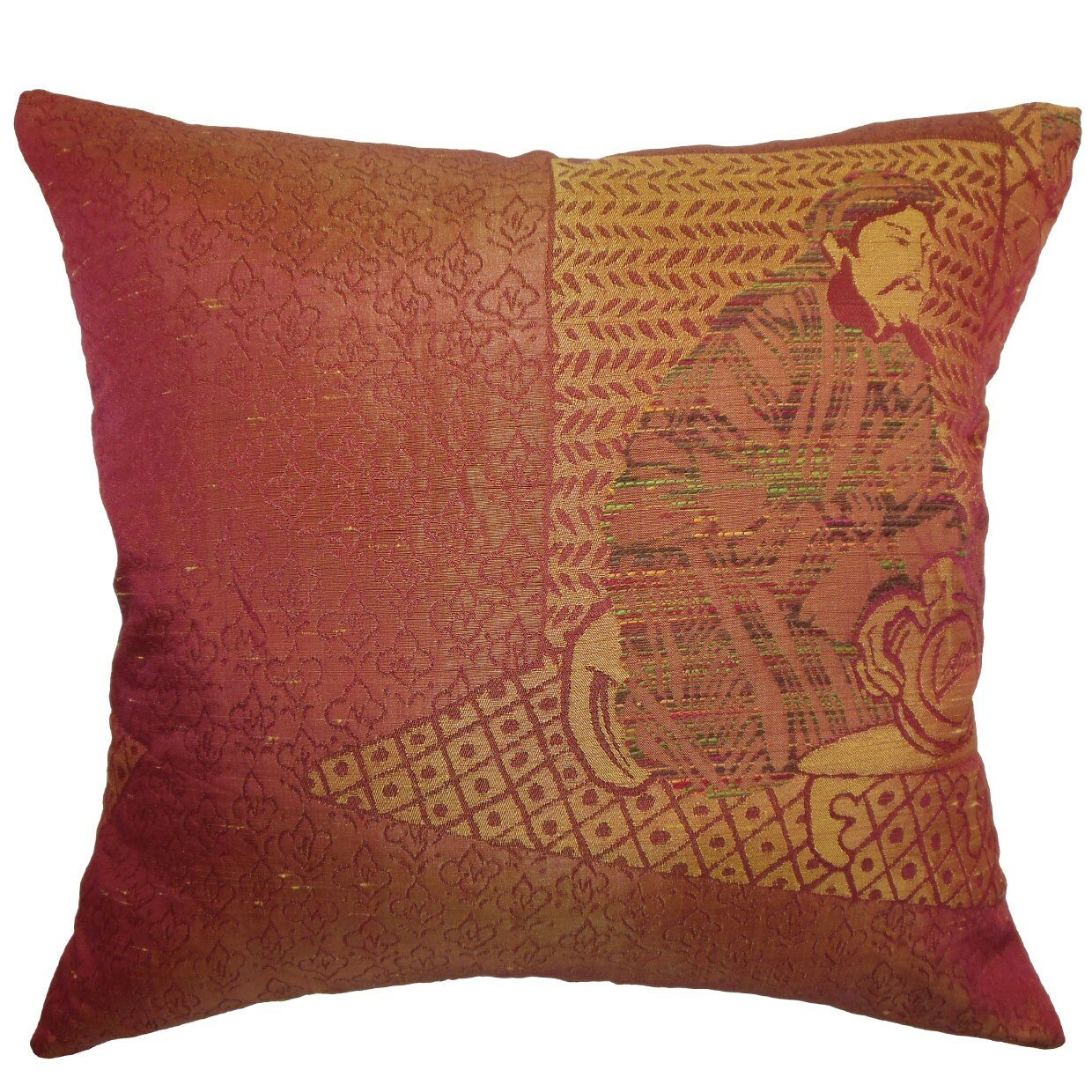 The Pillow Collection Harb Traditional Throw Pillow