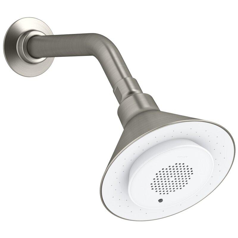 2.5GPM Music Shower Head with Wireless Bluetooth Speaker High Pressure Music Sho