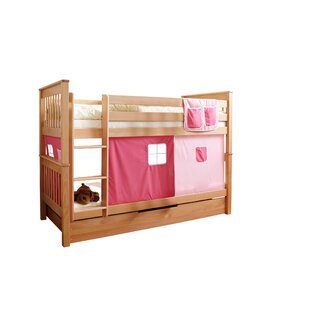 Spurgeon European Single Bunk Bed With Textile Set By Harriet Bee