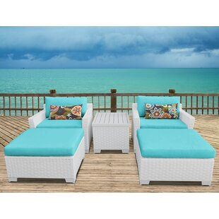 Monaco 5 Piece Conversation Set with Cushions