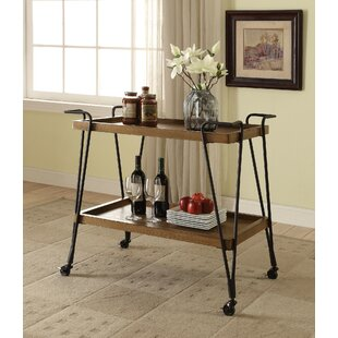 Trotter Serving Bar Cart by Williston Forge