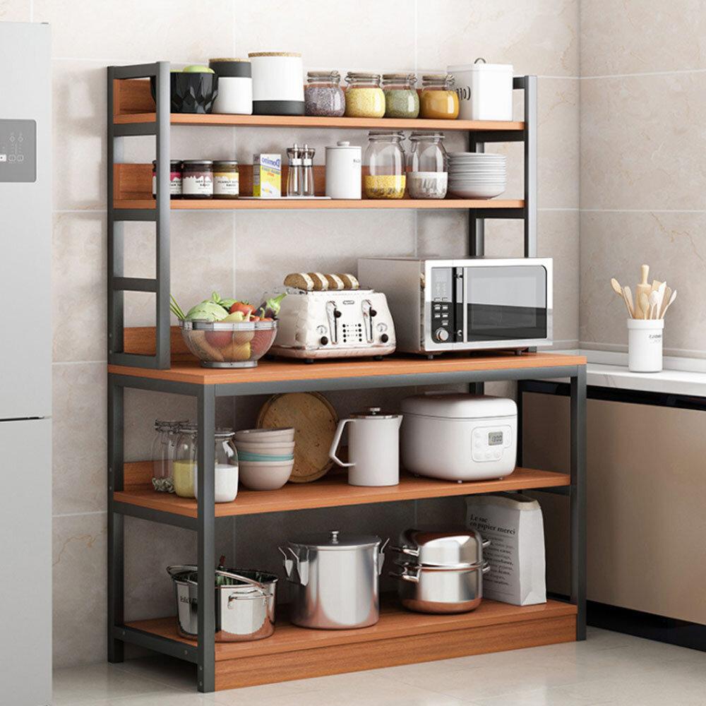 "11 Stories Plemons 11"" H x 11"" W Kitchen Shelving Unit Storage"