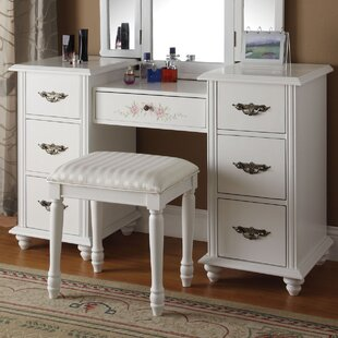 Bargain Torian Vanity Set ByA&J Homes Studio