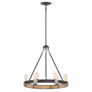 Hinkley Lighting Everett Single Tier 6-Light Candle-Style Chandelier