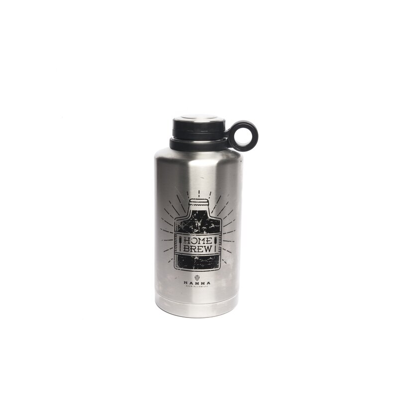 Ring Security water bottle 20 oz with flip top straw