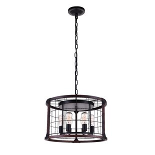 CWI Lighting 6-Light Chandelier