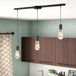 Sorensen 3-Light Cluster Pendant by Wrought Studio