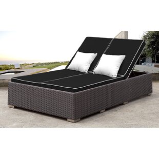 Lulsgate Double Reclining Chaise Lounge with Cushion