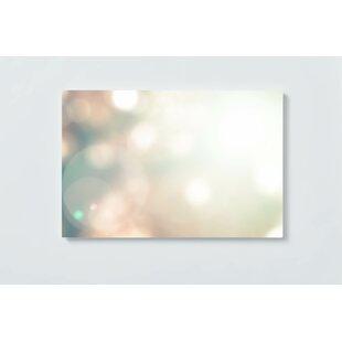 Droplets Motif Magnetic Wall Mounted Cork Board By Ebern Designs