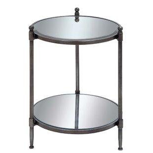Urban Designs End Table with Shelf by EC World Imports