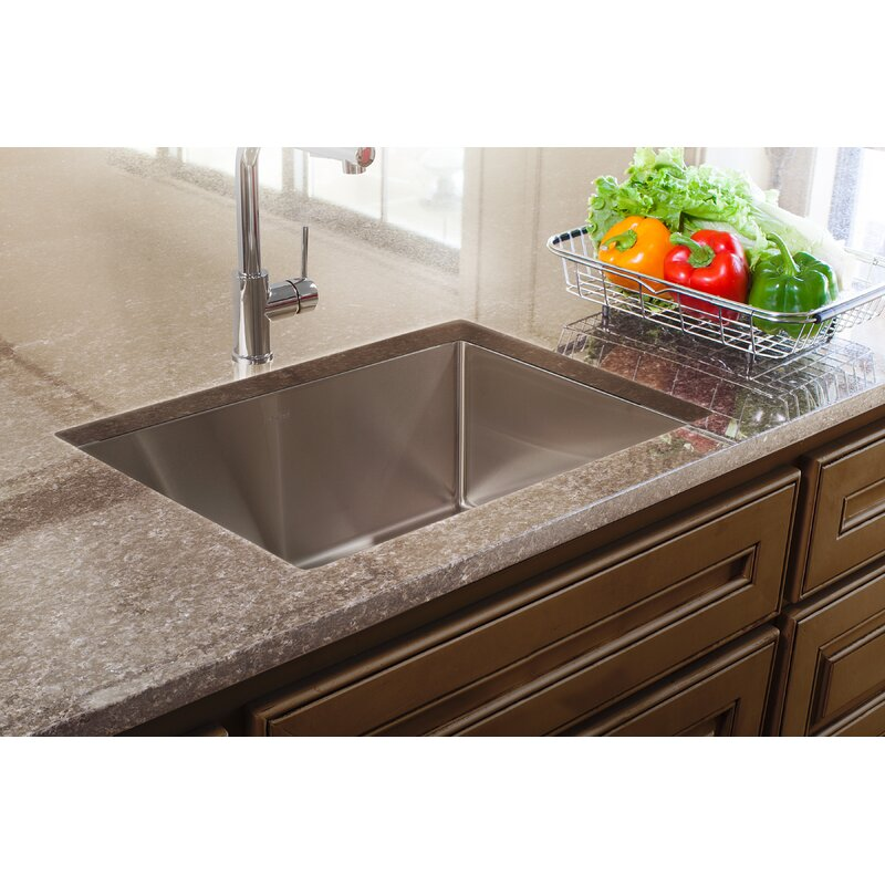 Franke Vector Handmade Stainless Steel 26 L X 23 W Dual Mount Kitchen Sink Reviews Wayfair