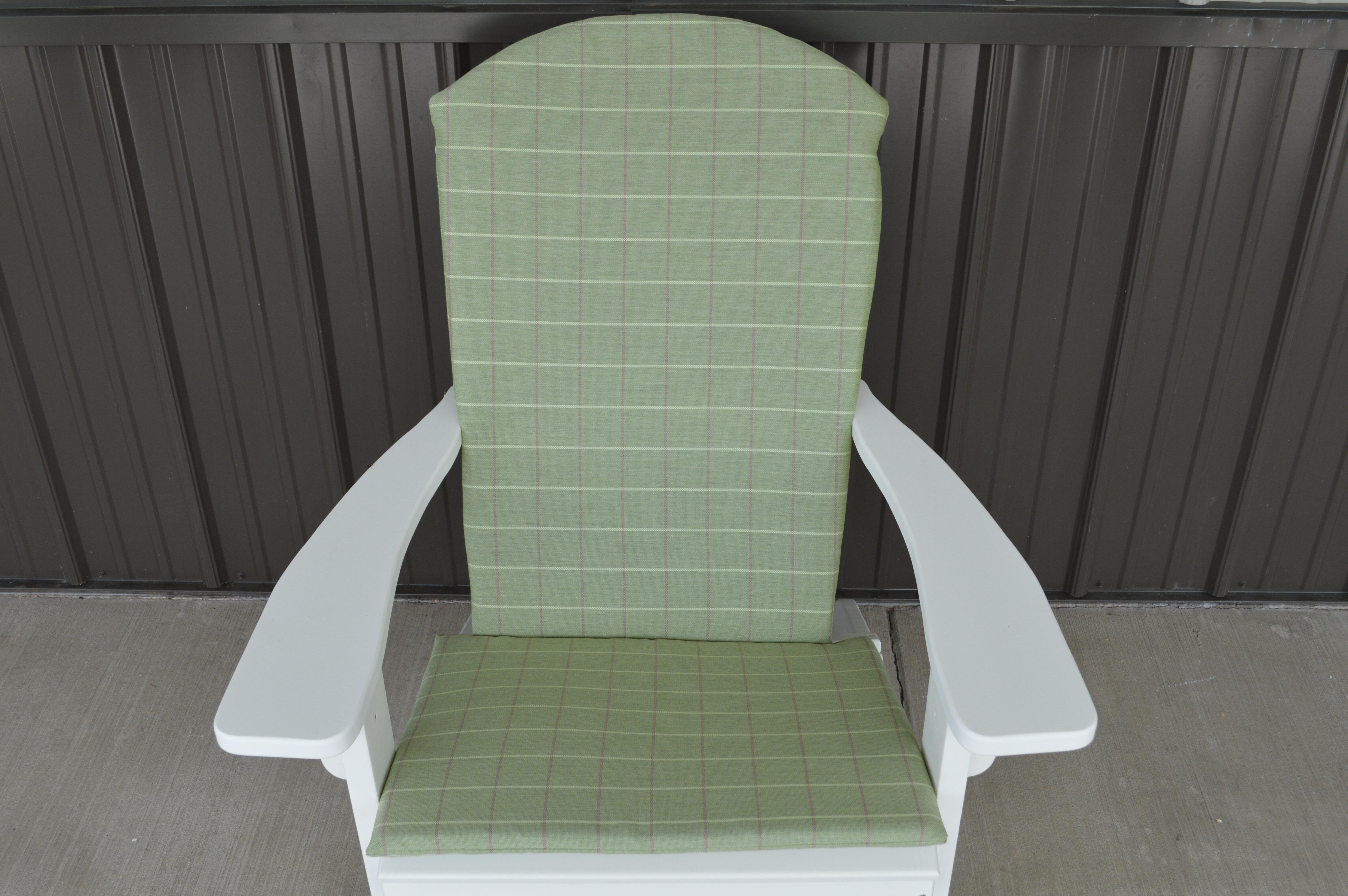 Coussin Pour Fauteuil Adirondack coussin de chaise adirondack agora complet pour l'intérieur et l'extérieur