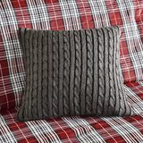 Williamsport Knitted Synthetic Throw Pillow byWoolrich
