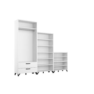 Shuffle 240cm Wide Clothes Storage System By Rauch