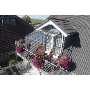 Vega 2000 6.5 ft. W x 6.5 ft. D Patio Awning by Palram
