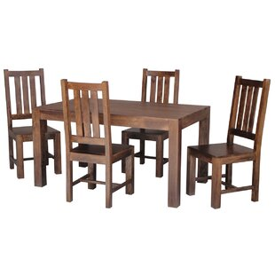 Friel Folding Dining Set With 4 Chairs By Union Rustic