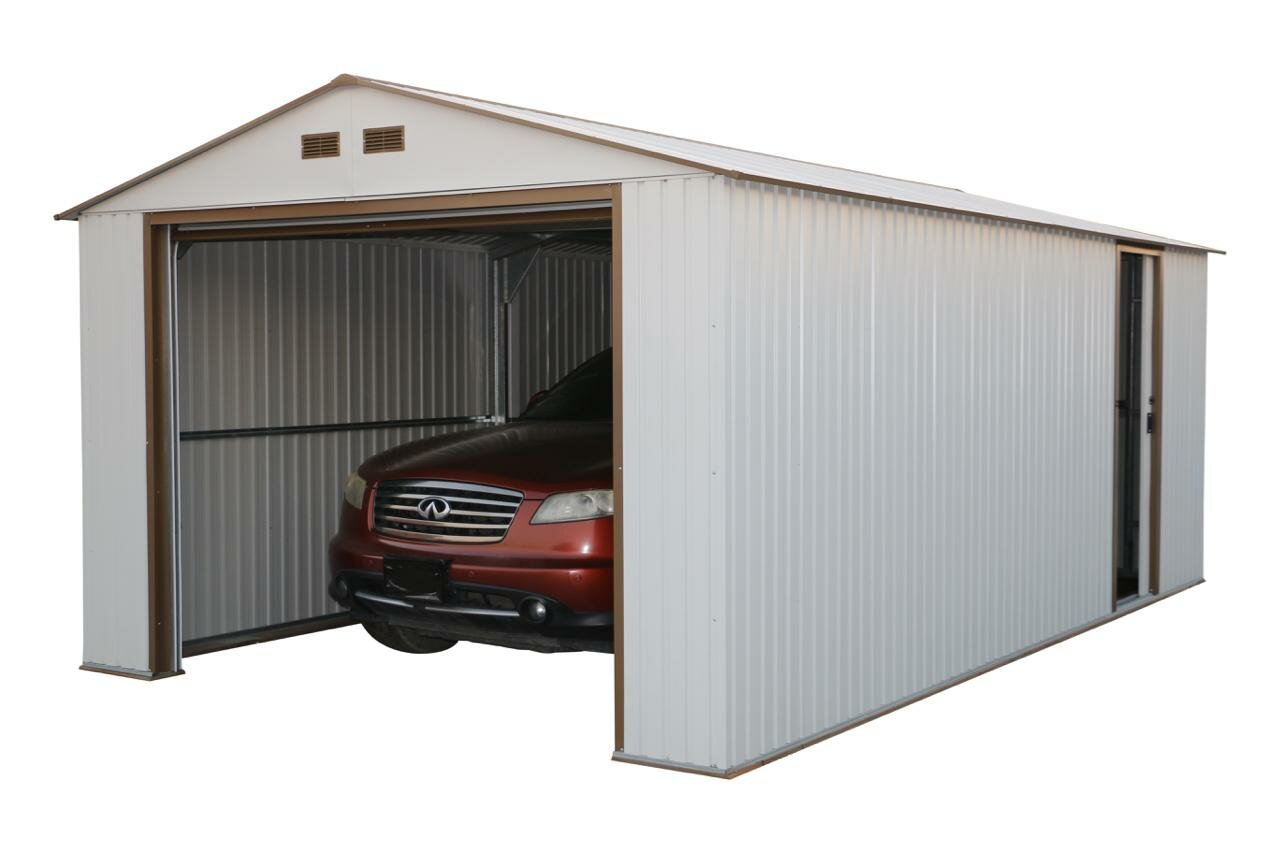Duramax imperial 12 ft w x 20 ft d metal garage shed reviews duramax imperial 12 ft w x 20 ft d metal garage shed reviews wayfair solutioingenieria Images