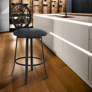 Wondrous Catina Modern Adjustable Height Swivel Bar Stool By Wade Gmtry Best Dining Table And Chair Ideas Images Gmtryco