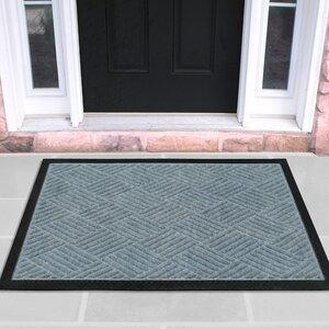 Carpeted Rubber Outdoor Doormat