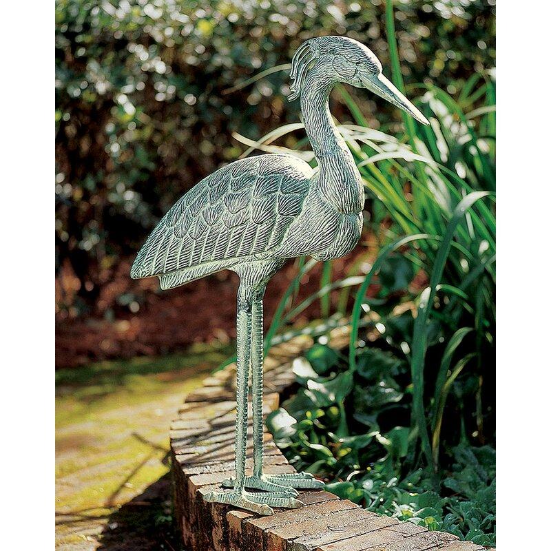 ACHLA Heron Statue
