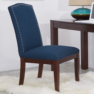 Crow Side Upholstered Dining Chair by Charlton Home Looking for