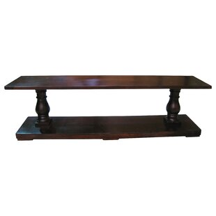 Maliyah Wood Bench by Longshore Tides