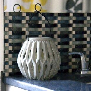 Ceramic Lantern by Ivy Bronx