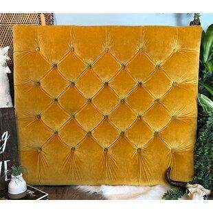 Honig Diamond Tufted Twin/Twin XL UpholsteredPanel Headboard by Zoomie Kids