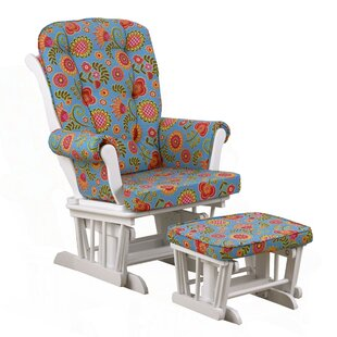 Harriet Bee Royston Floral Glider