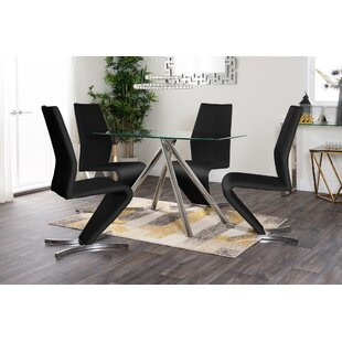 Sale Price Jocelyn Dining Set With 4 Chairs