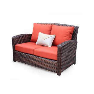 Remmers Loveseat with Cushion by Bloomsbury Market