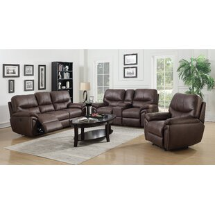 Winston Porter Quance Reclining Configurable Living Room Set
