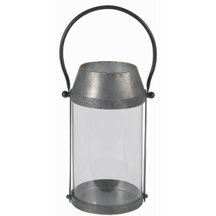 Gracie Oaks Small Metal Lantern