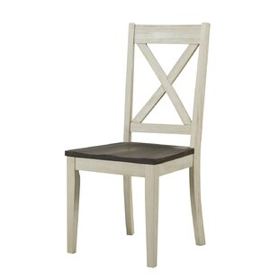 Scales Solid Wood Dining Chair (Set of 2) Gracie Oaks